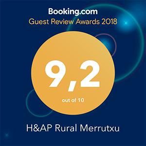 Guest Review Award 2017 en Booking.com