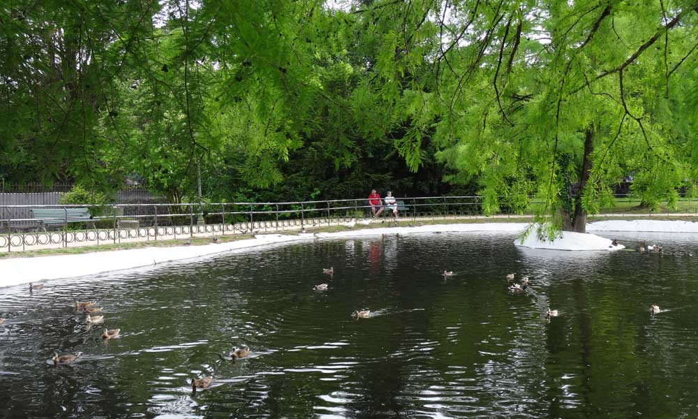Gernika, Parque de los Pueblos de Europa
